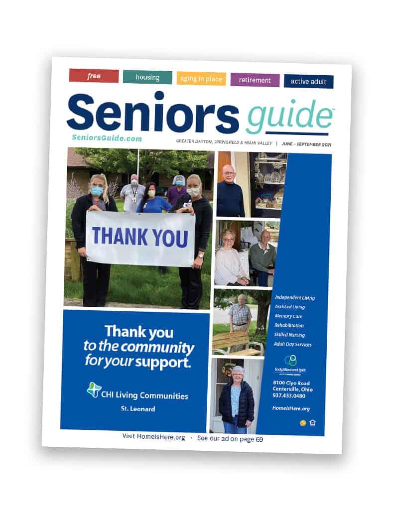 Seniors Guide Dayton Magazine Cover