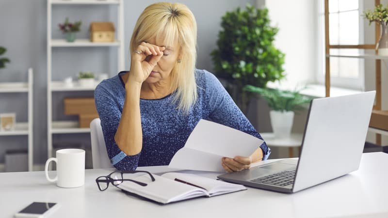 A mail scam is one of the most common senior scams