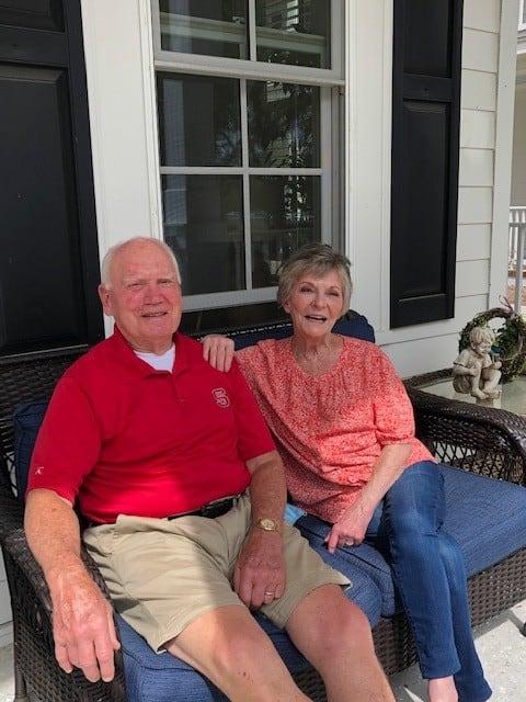 Jack and Sondra at Carolina Bay
