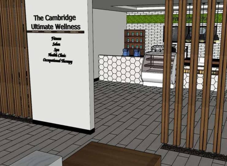 Cambridge at Brier Creek Raleigh Ultimate Wellness Rendering