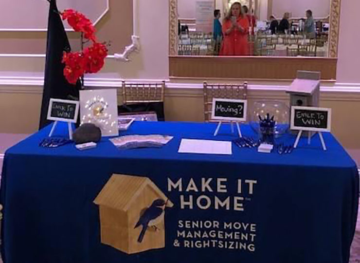 Make It Home Trade Show Table