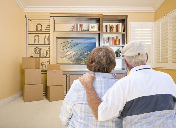 Make It Home Elderly Couple Packing Up Home