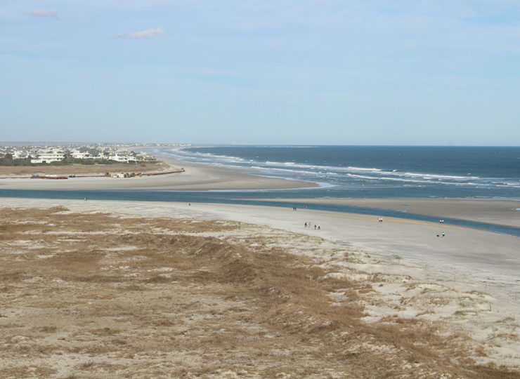 Intracoastal Realty Wrightsville Beach Aerial View of Beach
