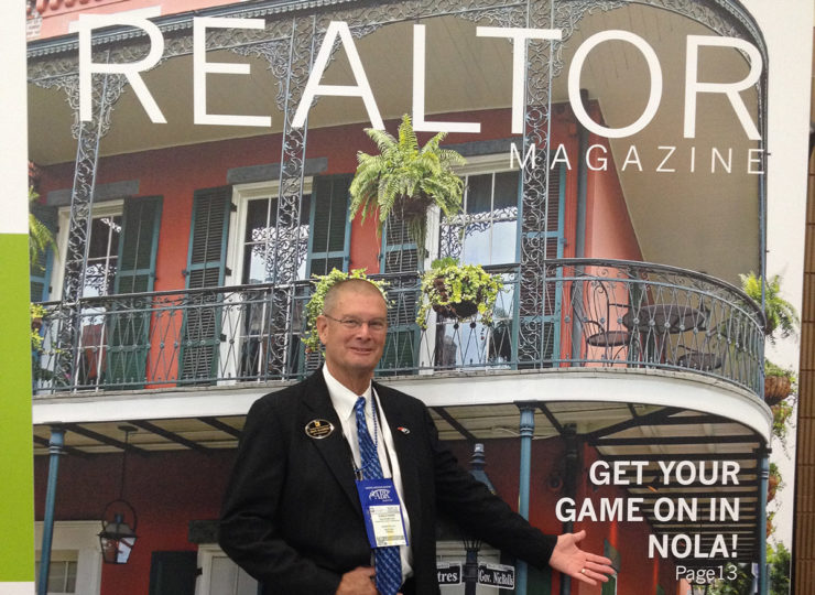 Intracoastal Realty Don Harris Large Magazine Cover