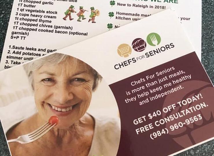 Chefs For Seniors Brochure Coupon