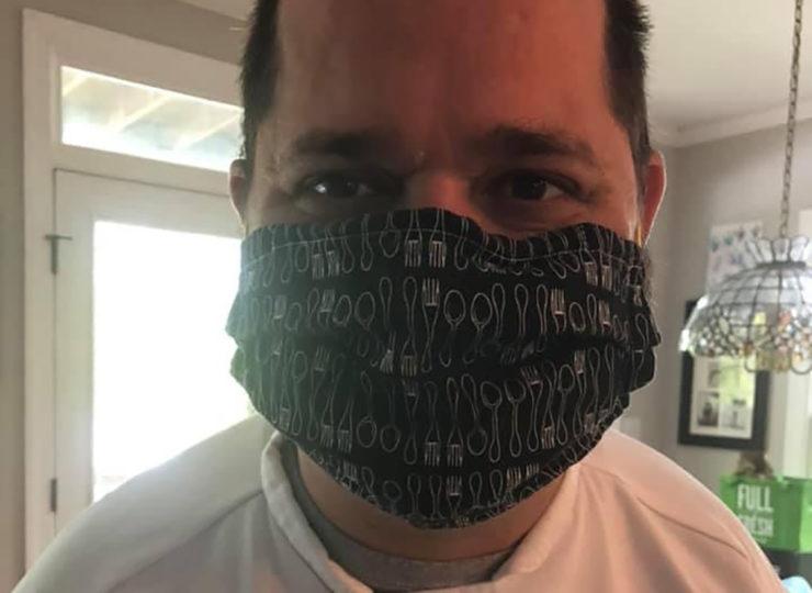 Chefs For Seniors Zack Wearing Mask