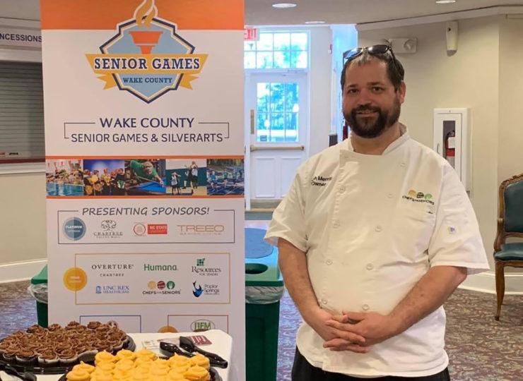 Chefs For Seniors Zack Wake County Senior Games