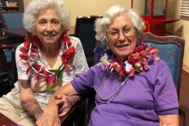Smiling Senior Friends