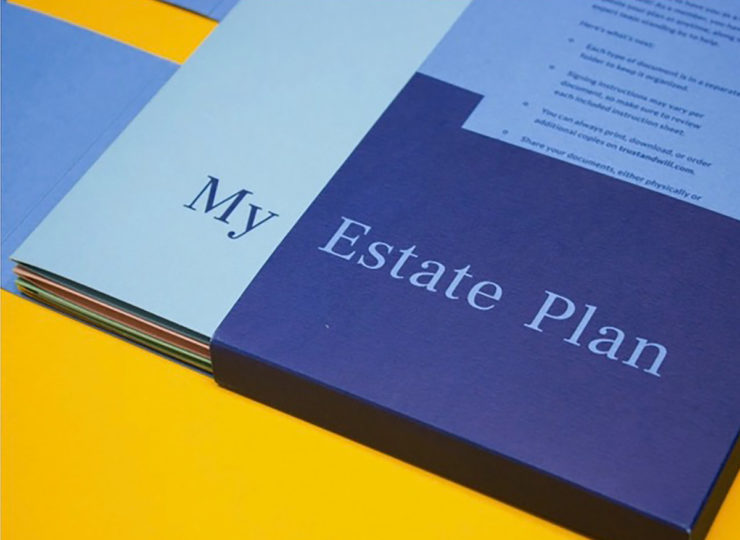 Trust and Will My Estate Plans Book