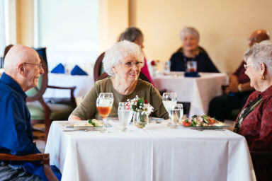 Dining at Friendship Living